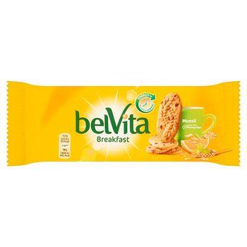belVita Breakfast Ciastka zbożowe z musli 50 g