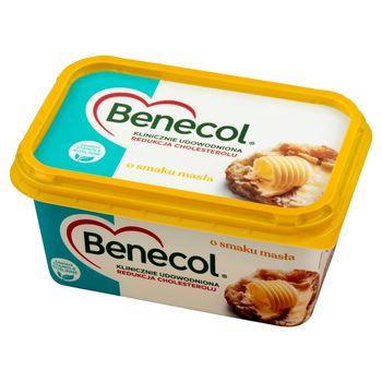 Benecol Tłuszcz do smarowania z dodatkiem stanoli roślinnych o smaku masła 400 g