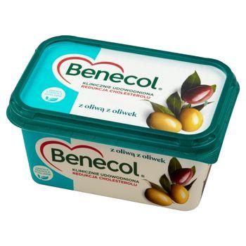 Benecol Tłuszcz do smarowania z dodatkiem stanoli roślinnych z oliwą z oliwek 400 g