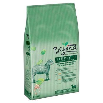 Beyond Simply 9 Pełnoporcjowa karma dla dorosłych psów bogata w jagnięcinę 1,4 kg