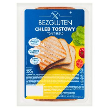 Bezgluten Chleb tostowy 300 g