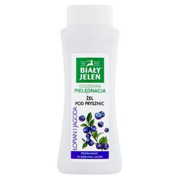 Biały Jeleń Żel pod prysznic łopian i jagoda 300 ml