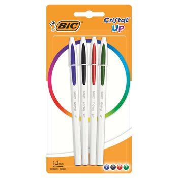 BIC Cristal Up Długopis 4 sztuki
