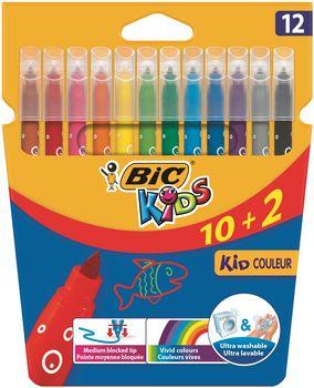 BIC Flamastry Kid Couleur 12 kolorów