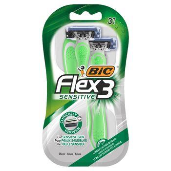 BIC Flex 3 Sensitive 3-ostrzowa maszynka do golenia 3 sztuki