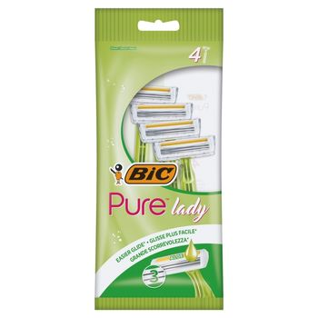 BiC Pure Lady Jednoczęściowe maszynki do golenia 4 sztuki