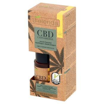 Bielenda CBD Cannabidiol Serum booster nawilżająco-detoksykujące na dzień noc 15 ml