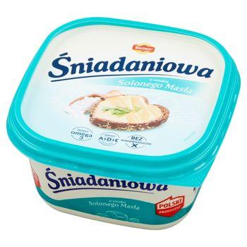 Bielmar Śniadaniowa Margaryna półtłusta o smaku solonego masła 450 g