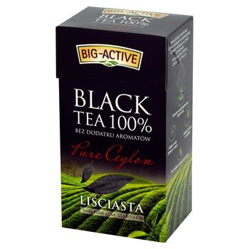 Big-Active Pure Ceylon Herbata czarna 100% liściasta 100 g
