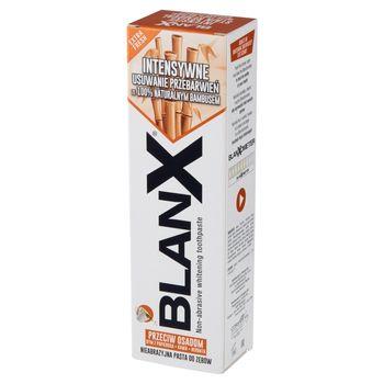 BlanX Przeciw Osadom Nieabrazyjna pasta do zębów 75 ml