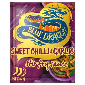 Blue Dragon Sos stir-fry słodko-ostry z chilli czosnkiem i białym octem ryżowym 120 g