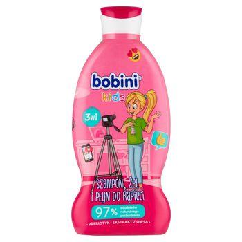Bobini Kids Szampon żel i płyn do kąpieli 3w1 mała blogerka 330 ml