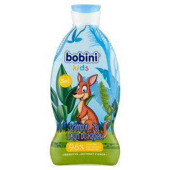 Bobini Kids Szampon żel i płyn do kąpieli 3w1 kangur 330 ml