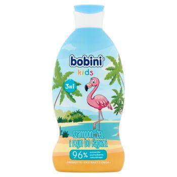 Bobini Kids Szampon żel i płyn do kąpieli 3w1 flaming 330 ml