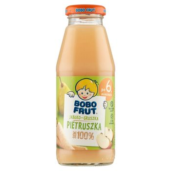 Bobo Frut 100% sok jabłko gruszka pietruszka po 6. miesiącu 300 ml