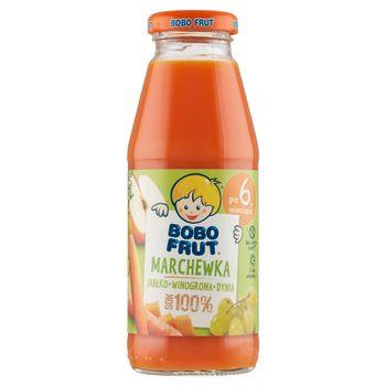 Bobo Frut 100% sok marchewka jabłko winogrona dynia po 6. miesiącu 300 ml