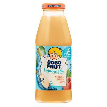 Bobo Frut Lemoniada gruszka jabłko mięta dla niemowląt po 6. miesiącu 300 ml