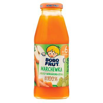 Bobo Frut Sok 100% marchewka jabłko winogrona dynia dla niemowląt po 6. miesiącu 300 ml