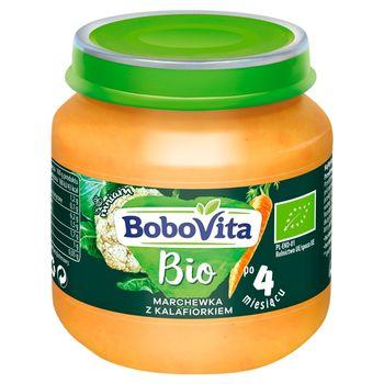 BoboVita Bio Marchewka z kalafiorkiem po 4 miesiącu 125 g