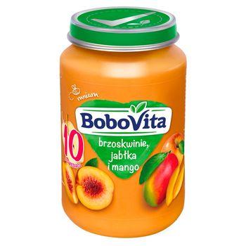 BoboVita Brzoskwinie jabłka i mango po 8 miesiącu 190 g