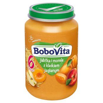 BoboVita Jabłka i morele z kleikiem jaglanym po 6 miesiącu 190 g