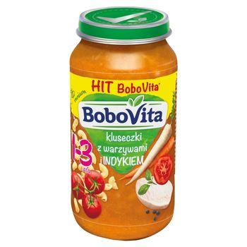 BoboVita Kluseczki z warzywami i indykiem 1-3 lata 250 g