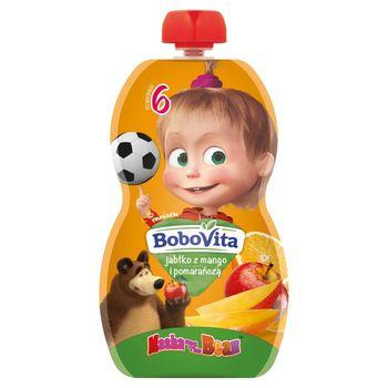 BoboVita Mus jabłko z mango i pomarańczą po 6 miesiącu 100 g