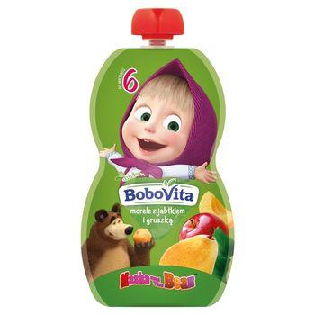 BoboVita Mus morele z jabłkiem i gruszką po 6 miesiącu 100 g