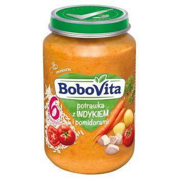 BoboVita Potrawka z indykiem i pomidorami po 6 miesiącu 190 g