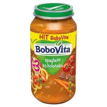 BoboVita Spaghetti po bolońsku dla dzieci 1-3 lata 250 g