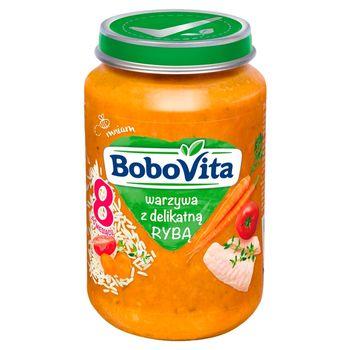 BoboVita Warzywa z delikatną rybą po 8 miesiącu 190 g