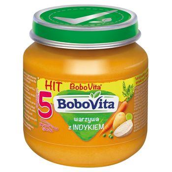 BoboVita Warzywa z indykiem po 5 miesiącu 125 g