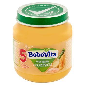 BoboVita Warzywa z łososiem po 5 miesiącu 125 g