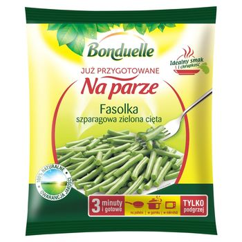 Bonduelle Już przygotowane na parze Fasolka szparagowa zielona cięta 400 g