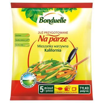 Bonduelle Już przygotowane na parze Mieszanka warzywna Kalifornia 400g