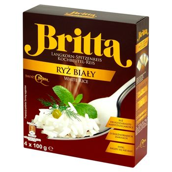 Britta Ryż biały 400 g (4 x 100 g)