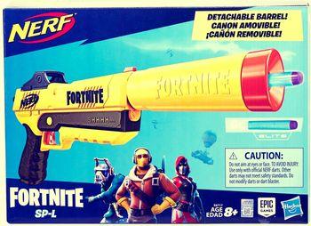 NERF Wyrzutnia Elite Fortnite SP-L Blaster Sneaky Springer