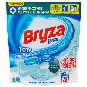 Bryza Lanza Hygiene & Protection Kapsułki do prania do bieli i kolorów 607,6 g (28 x 21,7 g)