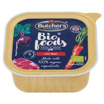 Butcher's Bio Foods Karma dla dorosłych psów pasztet z wołowiną i cielęciną 150 g