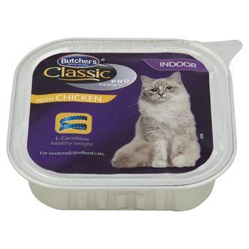 Butcher's Classic Pro Series Karma dla dorosłych kotów pasztet z kurczakiem 100 g
