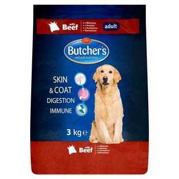 Butcher's Karma dla dorosłych psów z wołowiną 3 kg
