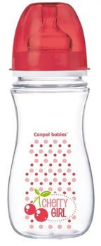 Butelka antykolkowa CANPOL EasyStart Owoce 300 ml (mix) 35/211