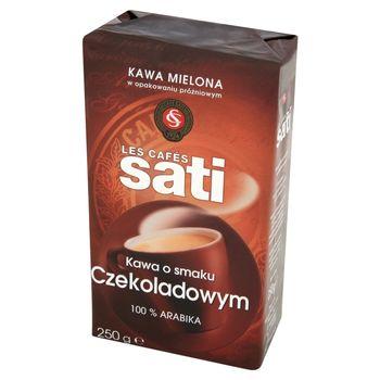Cafe Sati Kawa palona mielona o smaku czekoladowym 250 g