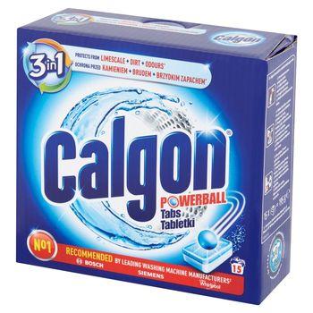 Calgon 3w1 Tabletki do pralek przeciw osadzaniu się kamienia 195 g (15 prań)