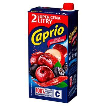 Caprio Napój jabłko aronia wiśnia 2 l