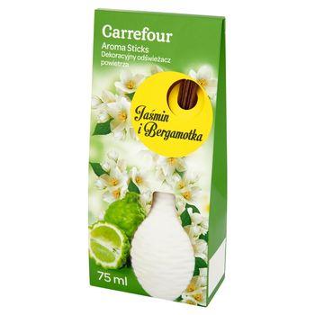Carrefour Aroma Sticks Jaśmin i Bergamotka Dekoracyjny odświeżacz powietrza 75 ml