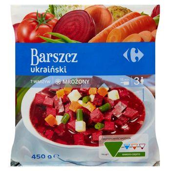 Carrefour Barszcz ukraiński mrożony 450 g