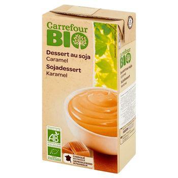Carrefour Bio Deser sojowy karmelowy 530 g