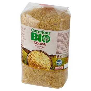 Carrefour Bio Ekologiczna kasza bulgur z pszenicy do dania pilaf 1 kg