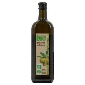 Carrefour Bio Ekologiczna oliwa z oliwek najwyższej jakości z pierwszego tłoczenia 1 l